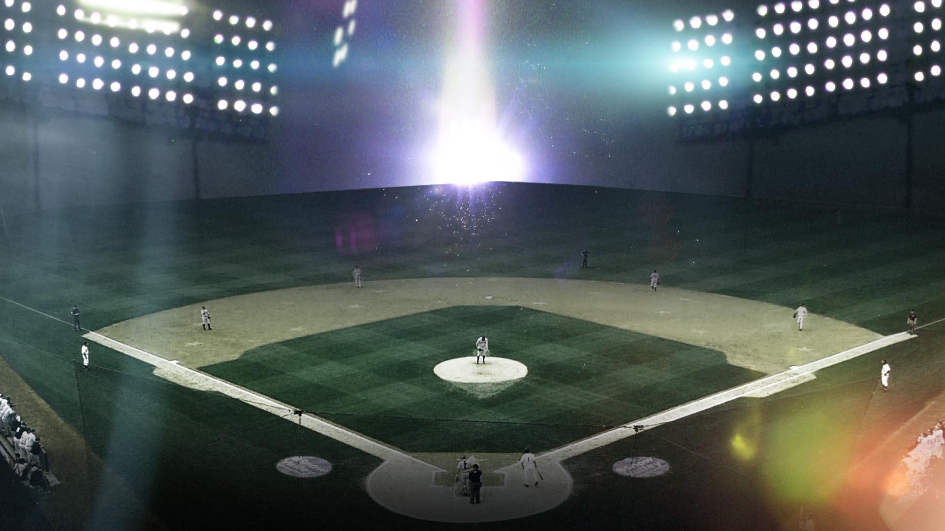 かっこいい野球場の画像フルHD壁紙